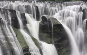 Shifen Waterfall Widescreen