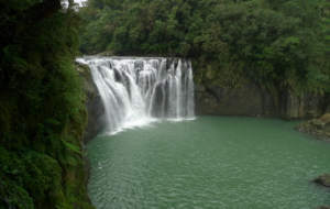 Shifen Waterfall For Desktop