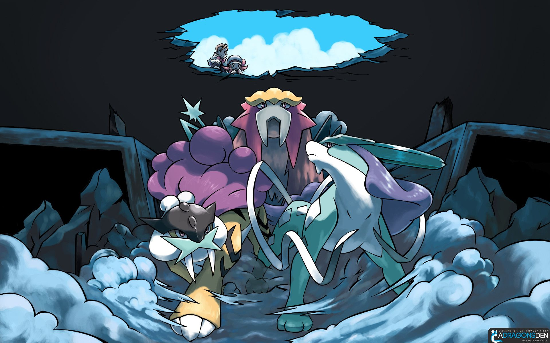 suicune pokemon hd wallpapers - photo #22