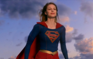 Supergirl TV Series HD Background