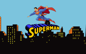 Superman Cartoon High Quality Wallpapers