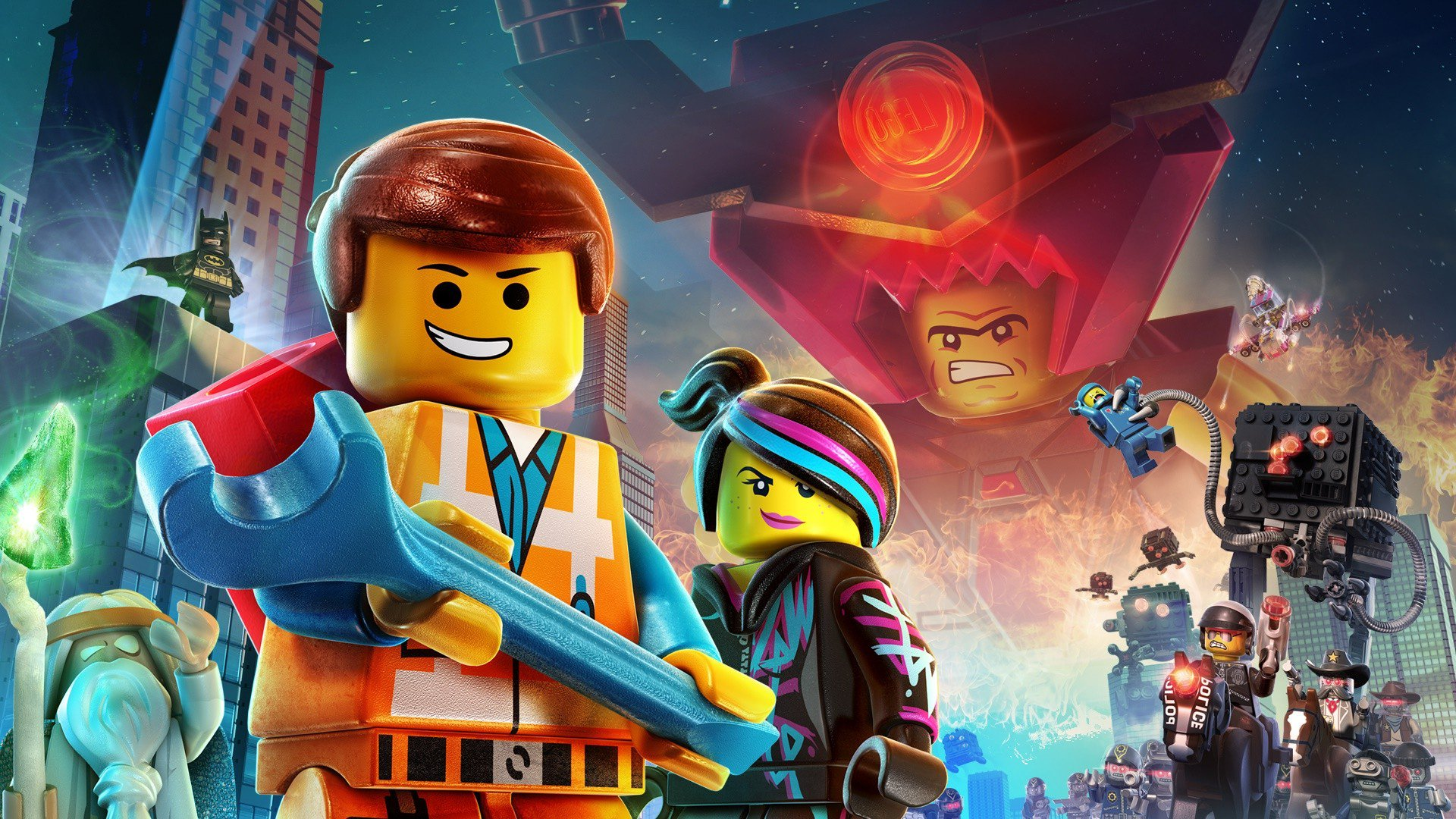 lego movie city background - photo #6