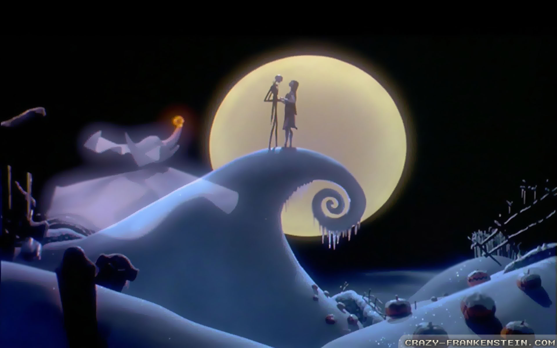 the nightmare before christmas desktop
