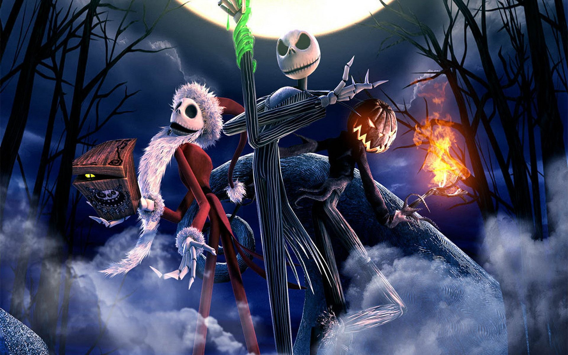 This is a graphic of Soft Nightmare Before Christmas Pic