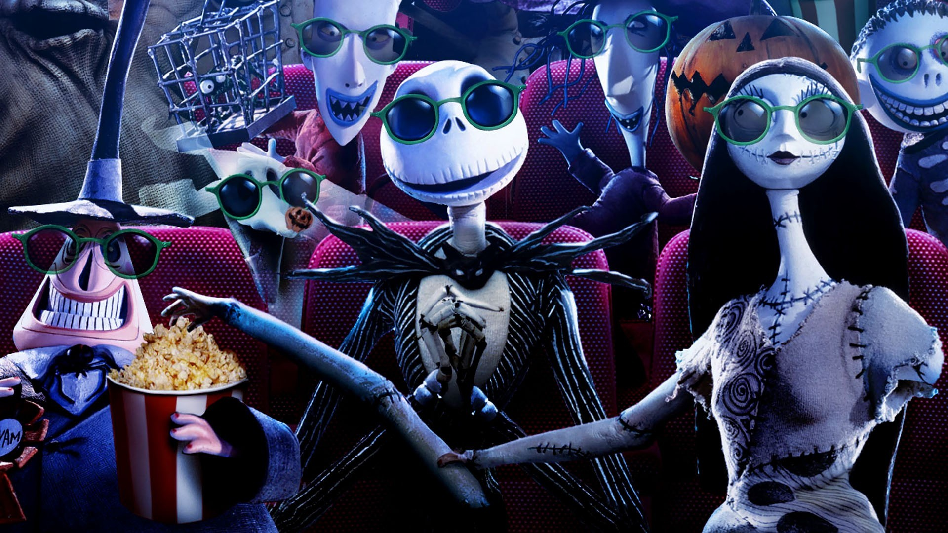 This is a graphic of Witty The Nightmare Before Christmas Image