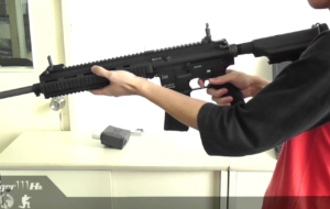US M27 IAR Rifle 4K