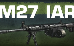 US M27 IAR Rifle Computer Wallpaper