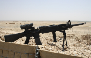 US M27 IAR Rifle Wallpaper