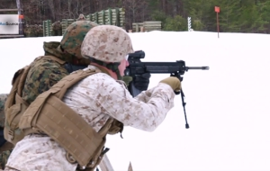 US M27 IAR Rifle Widescreen
