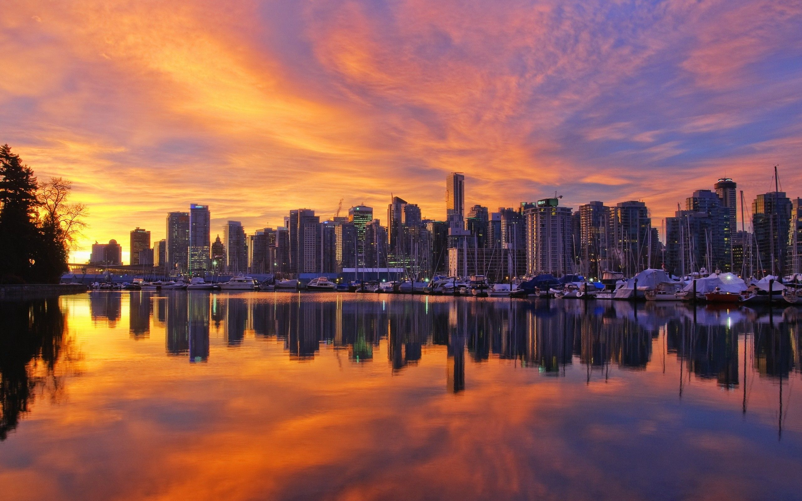 vancouver skyline wallpapers widescreen - photo #21