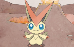 Victini HD Wallpaper
