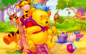 Winnie The Pooh HD Background