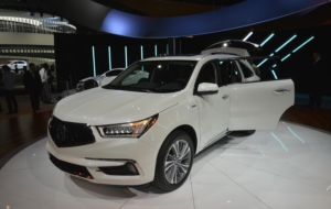 Acura CDX 2017 Photos