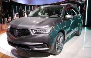 Acura CDX 2017 Pictures