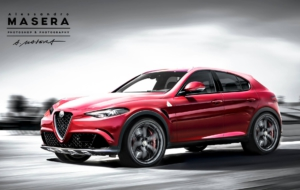Alfa Romeo SUV 2017 HD Background