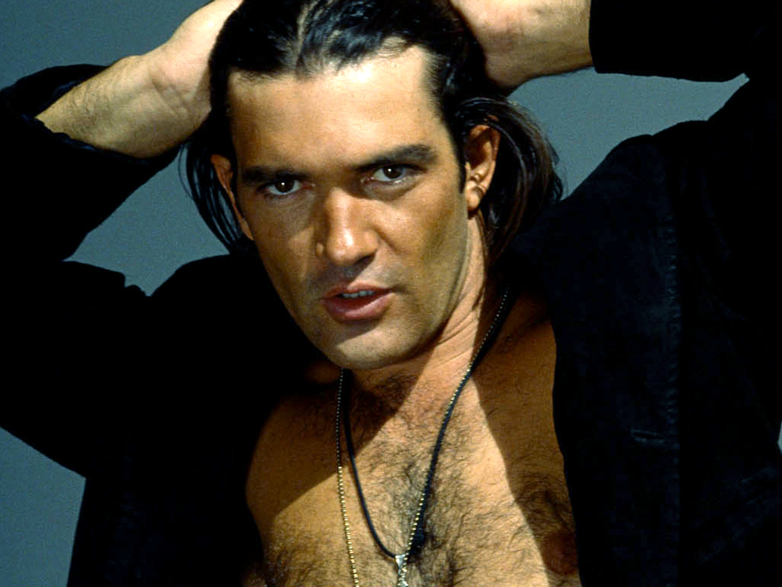 Antonio Banderas On Relationship with Girlfriend Nicole Kimpel: 'We Are Pretty Much In Love'