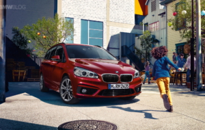 BMW 2 Series Active Tourer 2017 Background