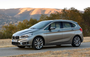 BMW 2 Series Active Tourer 2017 HD Background