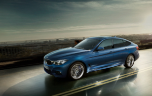 BMW 3 Series Touring 2017 HD Background