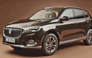 Borgward BX7 Suv High Definition Wallpapers