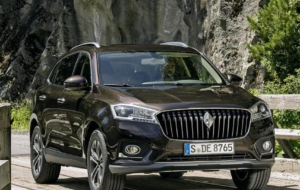 Borgward BX7 Suv Full HD