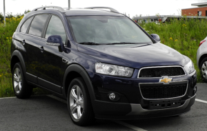 Chevrolet Captiva 2017 Background