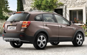 Chevrolet Captiva 2017 HD Desktop