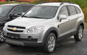 Chevrolet Captiva 2017 HD Wallpaper