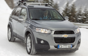 Chevrolet Captiva 2017 High Definition Wallpapers