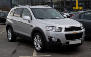 Chevrolet Captiva 2017 Images