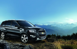 Chevrolet Captiva 2017 Wallpapers