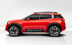 Citroen Aircross 2017 Background