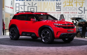 Citroen Aircross 2017 Photos