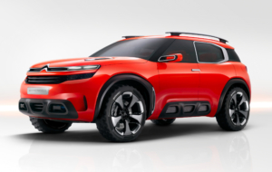 Citroen Aircross 2017 Wallpapers HD