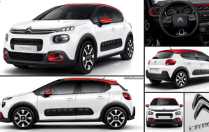 Citroen C3 2017 Background