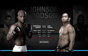 Demetrious Johnson Background