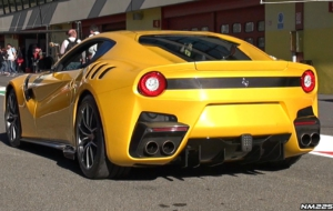 Ferrari F12tdf HD Background