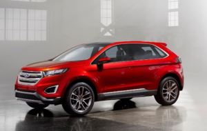 Ford Edge Sport 2017 Wallpapers