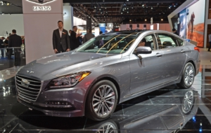 Genesis G80 2017 Wallpapers
