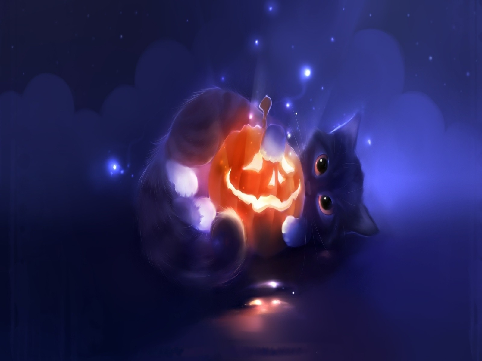 Image Result For Anime Halloween Wallpaper
