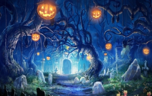 Halloween Backgrounds 1