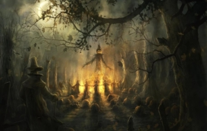 Halloween Backgrounds 11