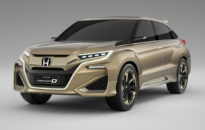 Honda Avancier SUV High Quality Wallpapers