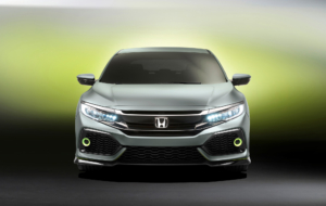 Honda Civic 2017 HD Background