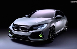Honda Civic 2017 Full HD