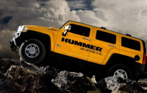 Hummer HX 2017 Background