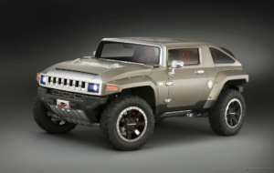 Hummer HX 2017 Pictures