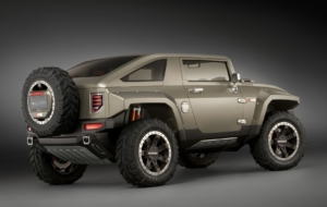 Hummer HX 2017 Wallpapers