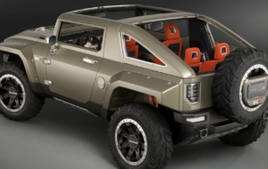 Hummer HX 2017 Wallpapers HD