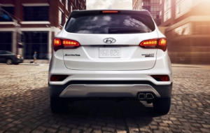 Hyundai Santa Fe Sport 2017 High Quality Wallpapers